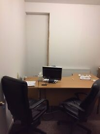 Office Space Available in a great location. £70 per week including bills.