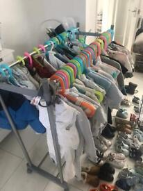 Baby boys clothes and shoes designer and Spanish