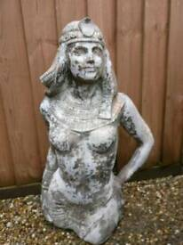 19th century statue sculpture in the Egyptian taste