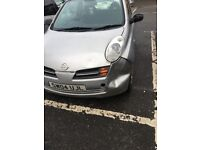 Nissan micra 04, poor body work but no faults