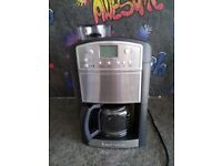Platinum Grind And Brew Coffee Machine by Russell Hobbs RRP...£100
