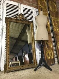 19th Century Antique French Ornate Mirror
