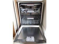 Bosch Serie 4 SMS46MI01G Freestanding Dishwasher, Grey