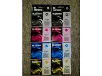 2 sets of compatible Epson ink cartridges