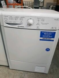 *+INDESIT CONDENSER DRYER/NEARLY NEW/*FreeLOCAL Delivery/FULLY SERVICE+WARRANTY+CLEAN+WORKING IN GOO