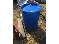Rain water tank barrel