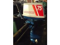 SUZUKI DT7.5HP SHORT SHAFT OUTBOARD