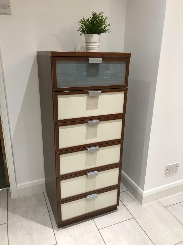 Ikea Hopen Tallboy Chest Of Drawers Chester Bedroom Storage