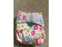 Totsbots teenyfit real reusable nappy good used condition