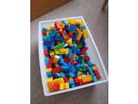 Building mega blocks