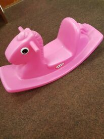 Little Tikes pink rocker