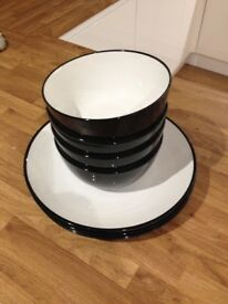 John Lewis dinner set, 8 pieces