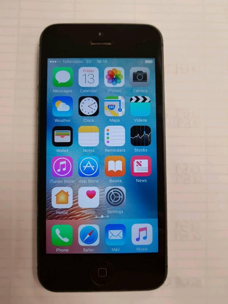 iPhone 5 unlocked in space grey