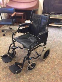 Wheeltech Folding Wheelchair