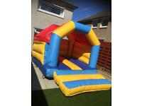 Bouncy Castle complete with blower & waterproof cover