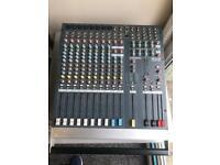 Allen and heath pa12-cp mixer console mixing desk board unit