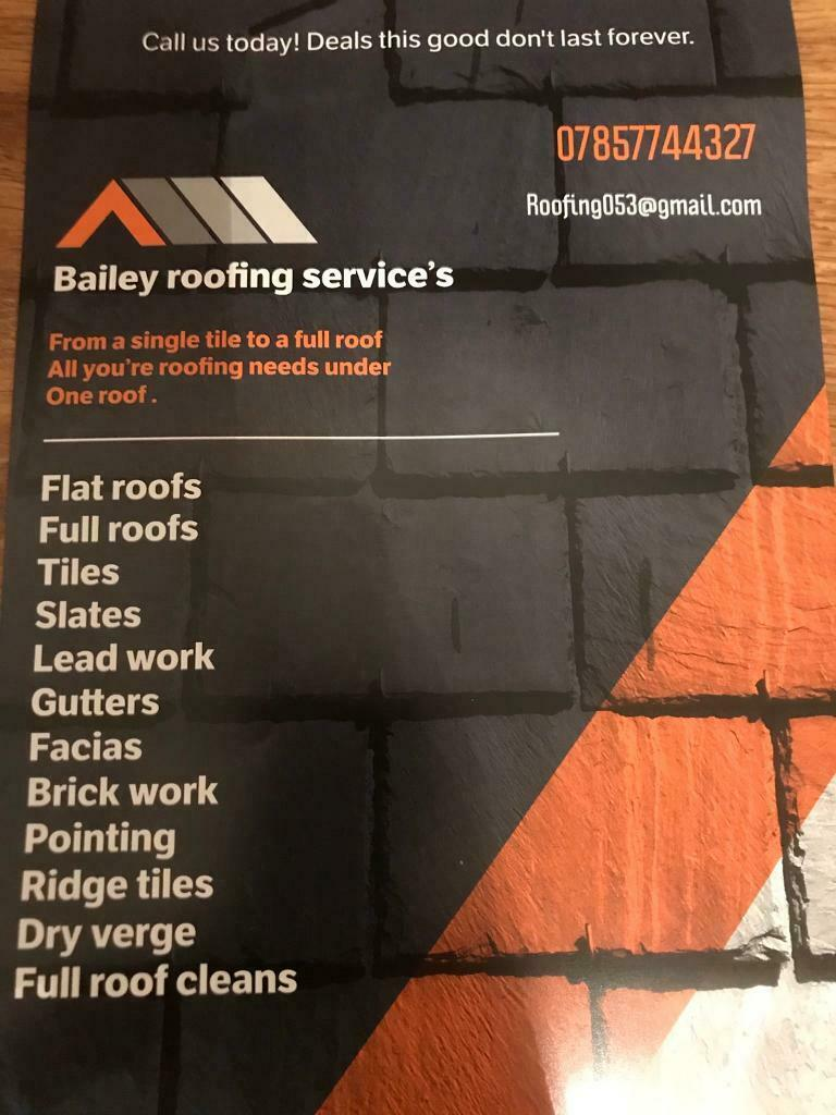 Bailey Roofing Services In Newcastle Tyne And Wear Gumtree