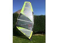 Severne 5.3 blade windsurfing sail.