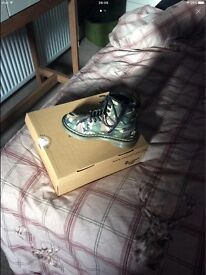 Dr martens size 11 camofaluge boots size 11 brand new
