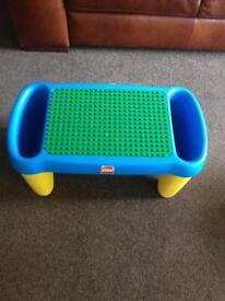 Lego play table.