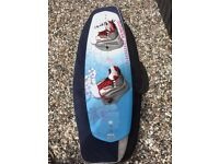 Immaculate Liquid Force Diva 134 Wakeboard with s/m Free Motion Bindings