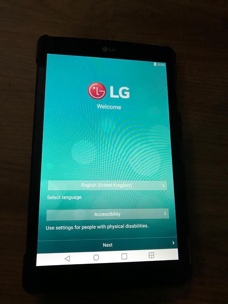 "LG Gpad 7"" tablet"