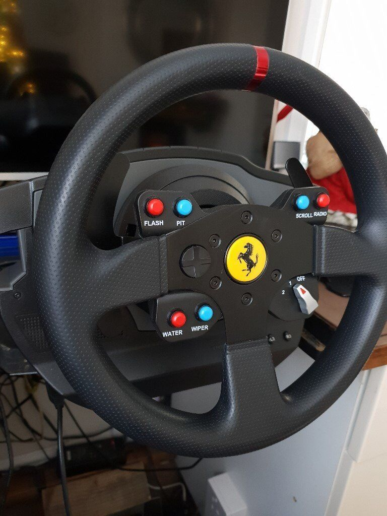Thrustmaster T500 with pedals and thrustmaster THA Gearstick   in Dartford,  Kent   Gumtree