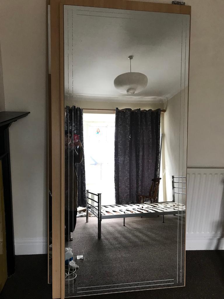 Large Sliding Glass Doorx2 Wardrobe In Newcastle Tyne And Wear