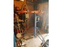 Plaster board hoist