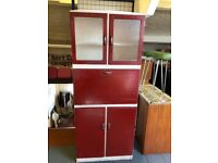 Beautiful Vintage Retro Mid Century Kitchen Cabinet/Cupboard/Larder.