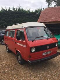 VW T25 Campervan 1982 2.0l Air Cooled -Meet Franc