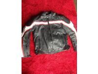 Triumph leather bike jacket motorcycle motorbike (not dainese alpinestars furygan)