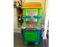 Kids Play Kitchen ELC Toy, Kitchen and Food Accessories etc… Great condition