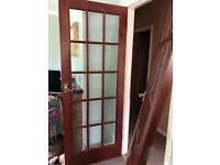 3 x Glass doors