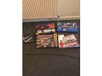 4 x board games