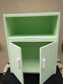 bedside cabinet ( painted )