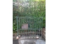 Lovely pair of wrought iron gates £70