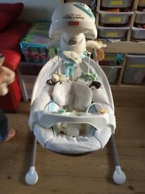 Fisher Price My Little Lamb Cradle n swing