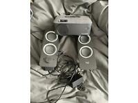 1080p Projector & speakers
