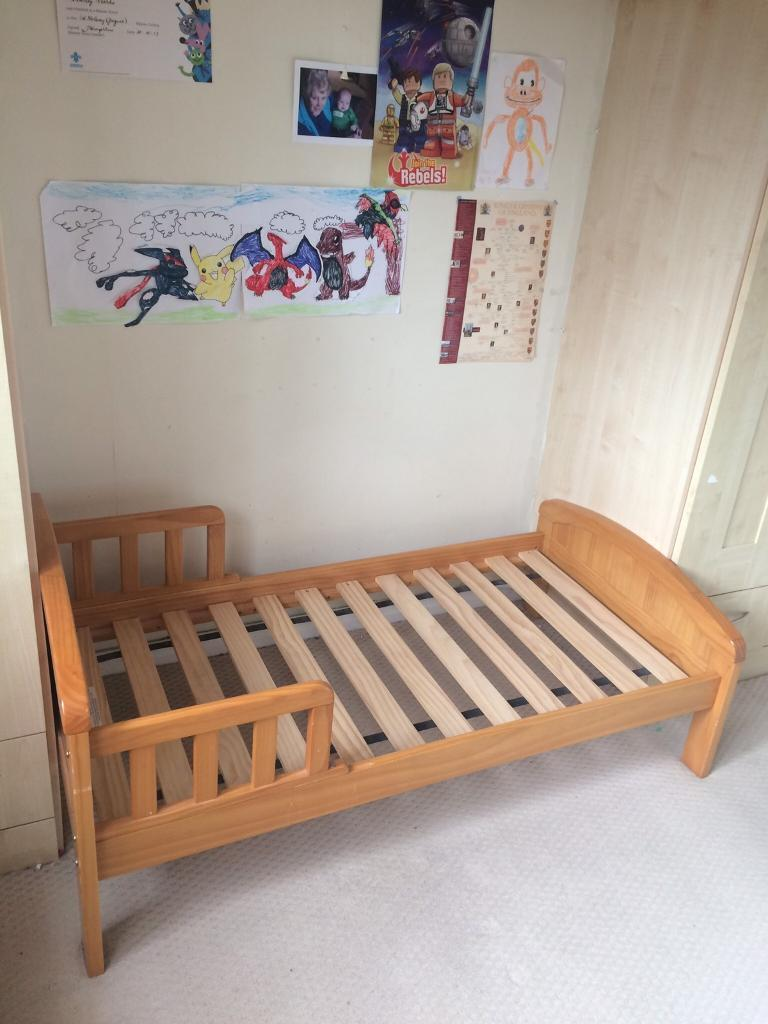 Kiddicare Country Toddler Bed Antique