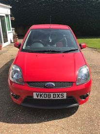Well looked after Red Ford Fiesta st for sale
