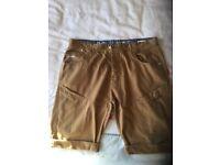 Men's crosshatch chino shorts