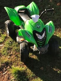 Child's battery powered quad