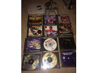 Sony ps1 console and games