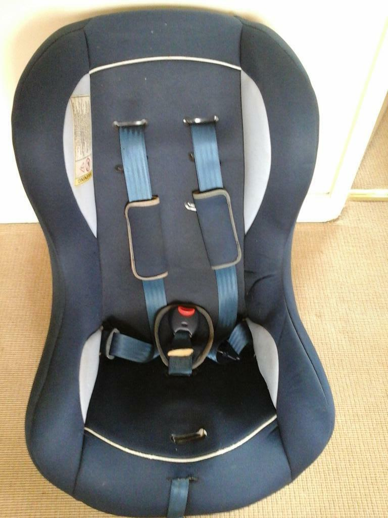 car seat has reclining position too in totnes devon gumtree. Black Bedroom Furniture Sets. Home Design Ideas