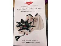 BNIB Donna May Lay Flat Makeup Bag