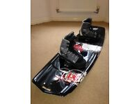 Wakeboard & Boots - Liquid Force, Witness - Redmon Greenwood plus bag
