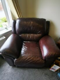 Leather electric recliners