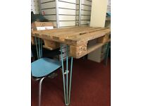 Handmade Upcycled Pallet Table (Meeting Table or Dining Table Height)