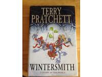 "2 Books: ""Thief of time"" and ""Wintersmith. A story of discworld"""